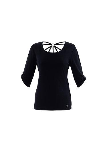 Marble Scotland - Black T-Shirt