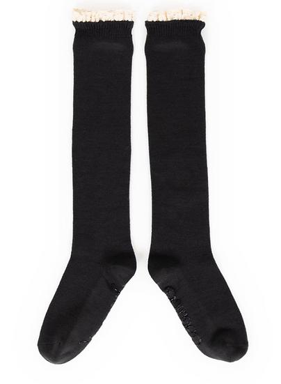 Powder - Lace Top Knee High Socks