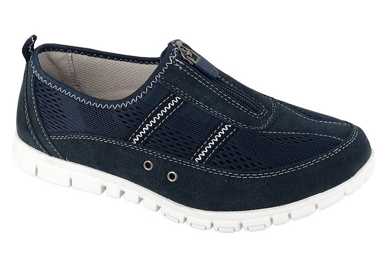 Boulevard -  Wide Fitting Navy