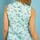 Thumbnail: Weird Fish - Lazio Organic Cotton Printed Sleeveless Shirt Seafoam