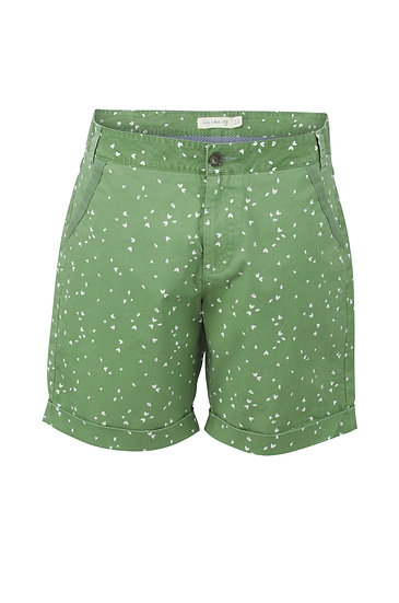Lily & Me - Twill Short Ditsy Apple