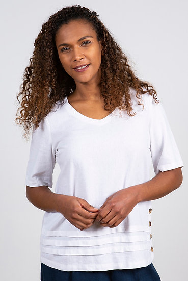 Lily & Me - Bluebell Top White