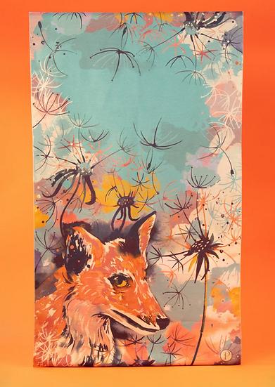 Powder - Luxurious Fox Print