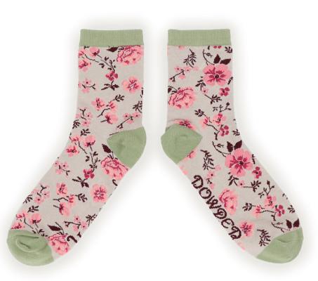 Powder - Pink Blossom Ankle Socks