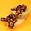 Thumbnail: Powder - Velvet Scrunchies (Pack of 2) Leopard Print