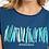 Thumbnail: Weird Fish -  Fornelli Organic Cotton Graphic T-Shirt Ensign Blue