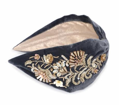 Powder - Gold Sequin Deco Headband