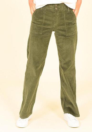 Brakeburn- Wide Leg Cordoroy Trouser
