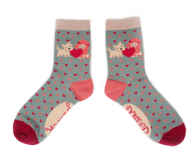 Powder - Puppy Love Ankle Socks