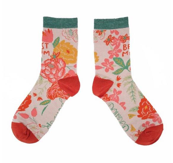 Powder - Best Mum Ankle Socks