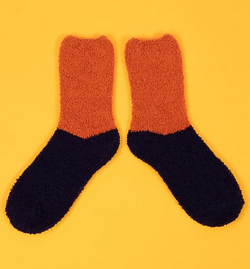 Powder - Fluffy Slipper Socks