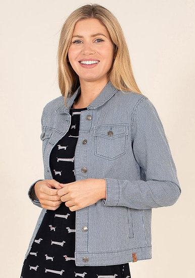 Brakeburn - Stripe Denim Jacket