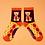 Thumbnail: Powder - Argyll Westie Ankle Socks