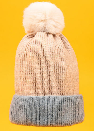 Powder - Bonnie Bobble Hat