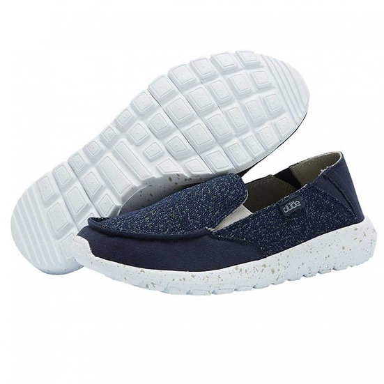 Hey Dude Shoes- Ava Isla Navy