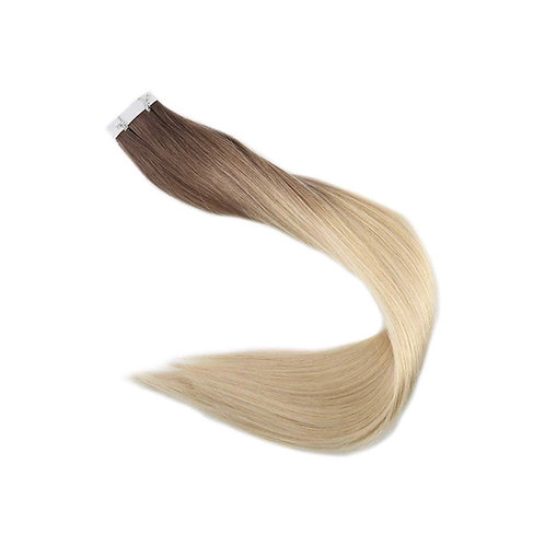 Tape In Hair Extensions. 100% Human Remy Hair. Colour(s) 6T/613.