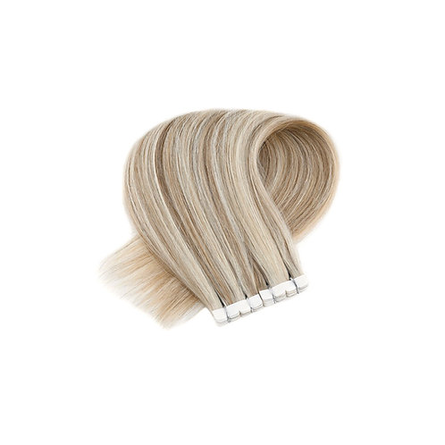 Mini Tape In Extensions. 100% Human Remy Hair. Colour(s) P18/613.