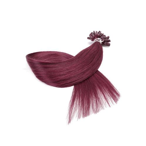 U-Tip Fusion Hair Extensions.100% Premium Indian Human Remy Hair. Colour #530.