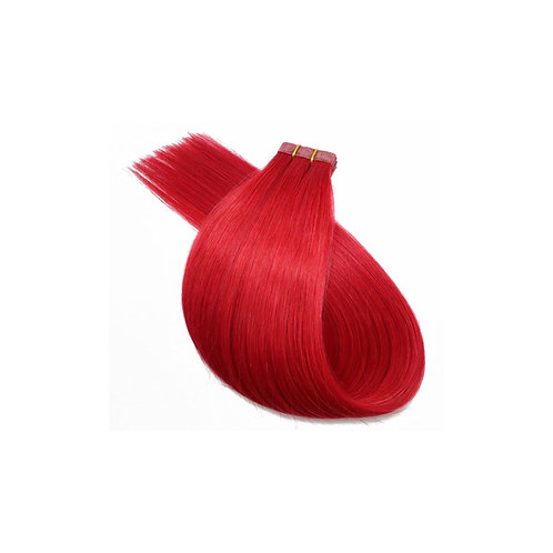 Tape In Hair Extensions. 100% Human Remy Hair. Colour(s) Fire Red.