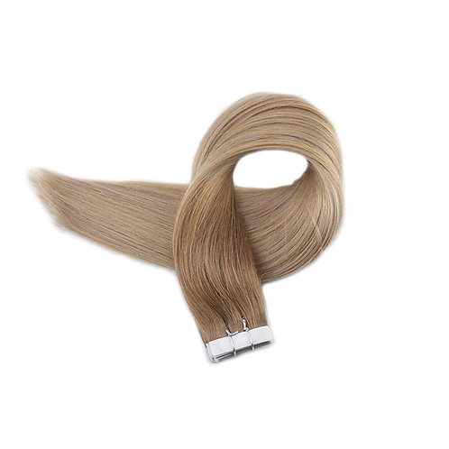 Tape In Hair Extensions. 100% Human Remy Hair. Colour(s) 5/18/24.