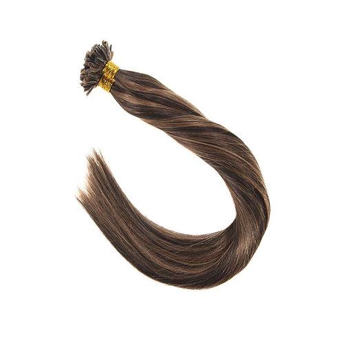 U-Tip Fusion Hair Extensions.100% Human Remy Hair. Colour(s) 2/6.