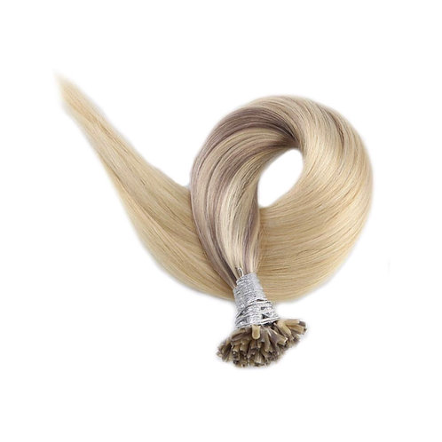 U-Tip Fusion Hair Extensions.100% Human Remy Hair. Colour(s) 18T/22/60.