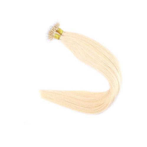 Nano Link Hair Extensions. 100% Human Remy Hair. Colour(s)  613.
