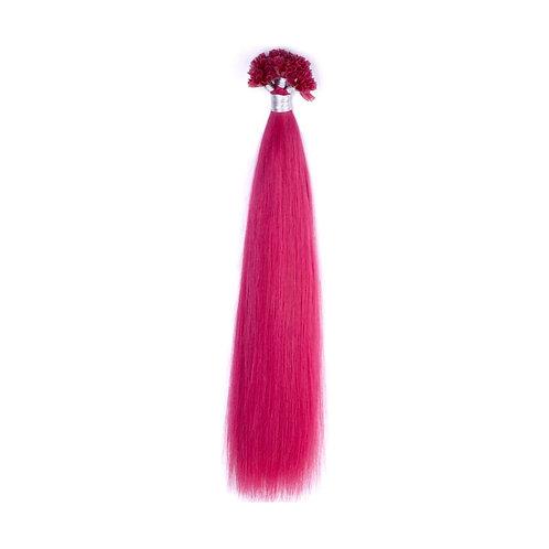 U-Tip Fusion Hair Extensions.100% Human Remy Hair. Colour(s) Fusia.
