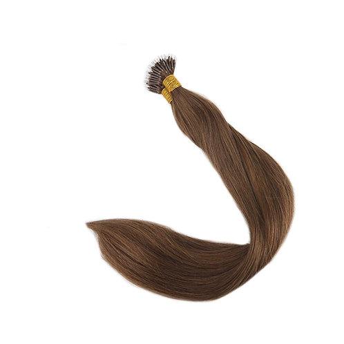 Nano Link Hair Extensions. 100% Human Remy Hair. Colour(s)  6.