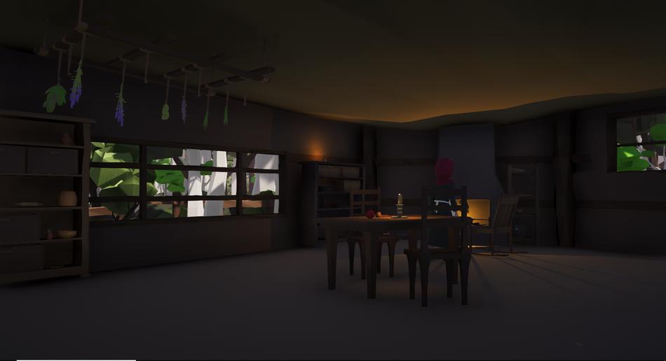 Inside Baka's House