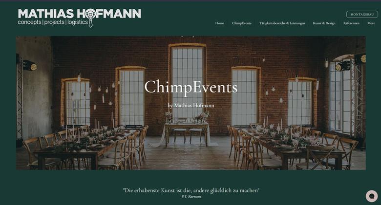 ChimpEvents by Mathias Hofman