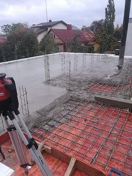 Perdangos betonavimas