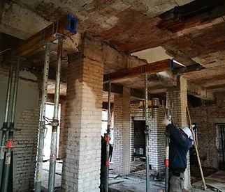 Rekonstrukcijos / renovacijos procesas