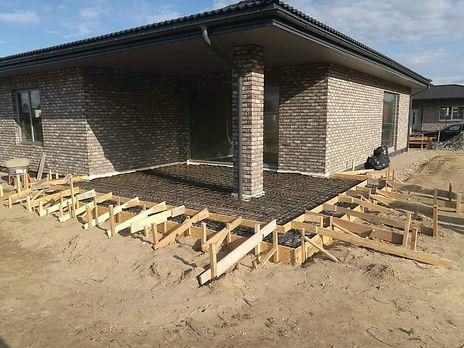 Kiti betonavimo darbai