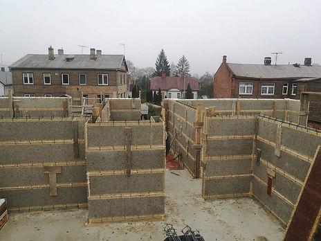 Pastato betonavimas (VELOX technologija)