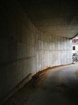 Atraminių sienų betonavimas