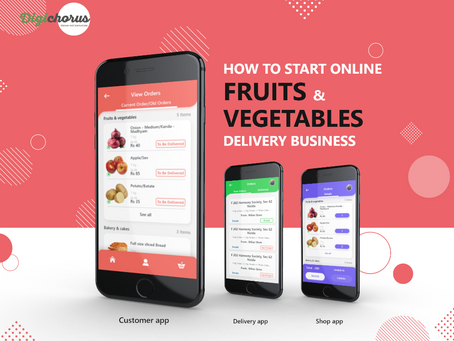 How to Start online fruits and vegetable delivery business with an app