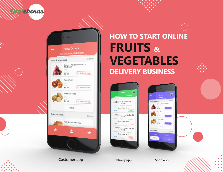 How to start online fruits and vegetable delivery business in India