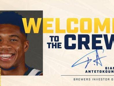Giannis Antetokounmpo Buys Stake in Milwaukee Brewers