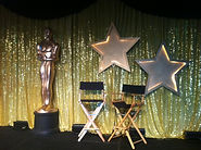 Hollywood awards decor