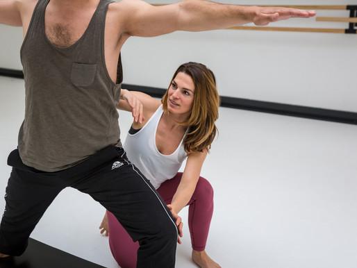 Yoga alleen voor vrouwen is taboe = Mannen op yoga is hip!