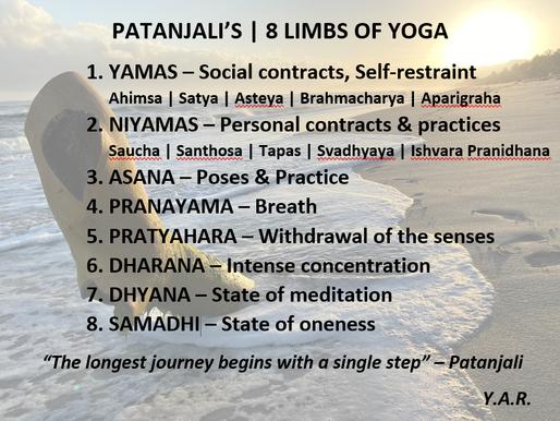 De Yamas - stap één van het achtvoudige yogapad van Patanjali