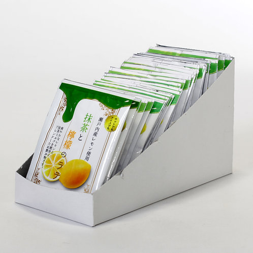 抹茶と檸檬のラテ12g×30袋