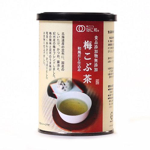 無添加梅昆布茶70g