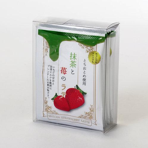 抹茶と苺のラテ12g×5袋