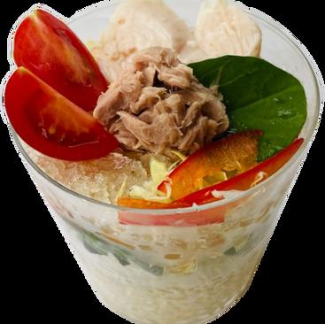 コンソメ氷サラダ