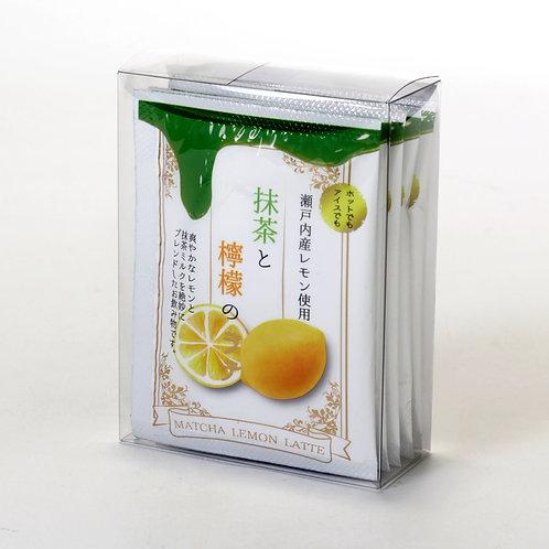 抹茶と檸檬のラテ12g×5袋