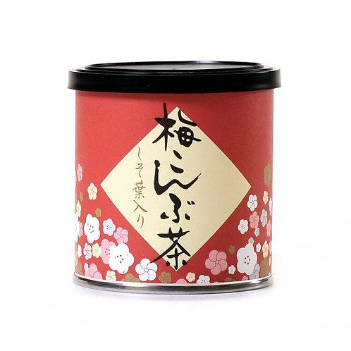 花シリーズ梅こぶ茶50g