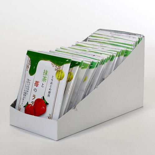 抹茶と苺のラテ12g×30袋