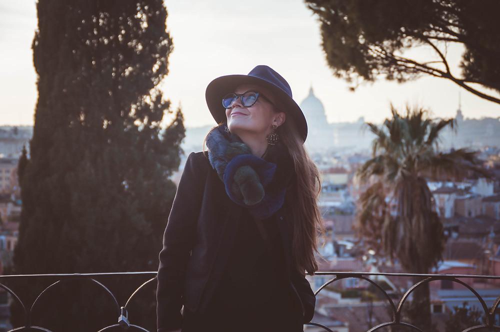 shooting in Rome, фотосессия в Риме